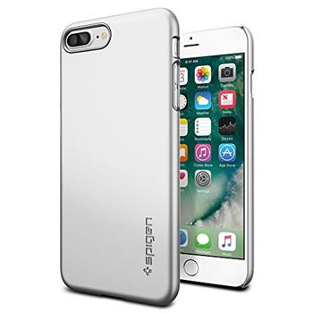 Spigen Thin Fit , Satin silver for iPhone 7 Plus