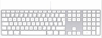 LMP USB Keyboard with numeric keypad KB-1243 Czech