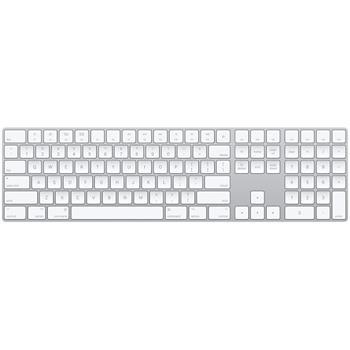 Apple Magic Keyboard with Numeric Keypad - Silver - Czech