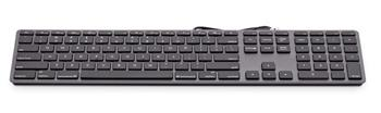 LMP USB Keyboard with numeric keypad space grey, CZ