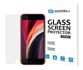 ODZU Glass Screen Protector 2pcs - for iPhone SE 2020