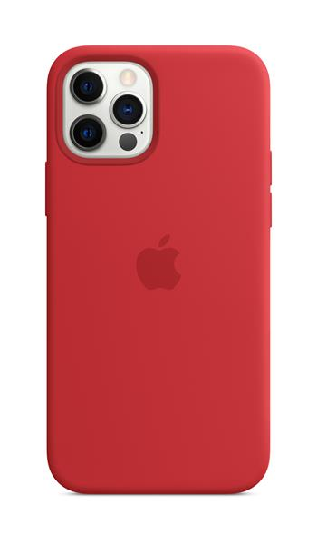 Apple iPhone 12/12 Pro Silicone Case w MagSafe (P.)RED