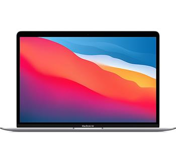 "Apple MacBook Air 13"" Apple M1 chip with 8-core CPU and 7-core GPU,8GB, 256GB - Silver"