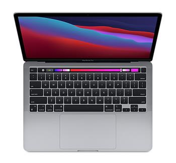 Apple MacBook Pro 13'' Apple M1 chip with 8-core CPU and 8-core GPU,8GB,256GB SSD - Space Grey
